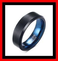 Tungsten setje 8 Zwart en Blauw 6 mm