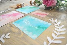 Aquarelle carte-cadeau - Google 検索