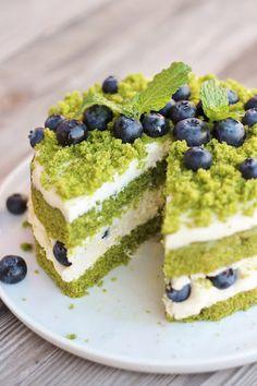 Food Cakes, Mini Cakes, Cupcake Cakes, Moss Cake, Bolos Light, Cheesecake Recipes, Dessert Recipes, Czech Recipes, Summer Cakes