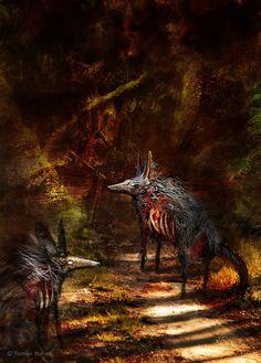 """Dream 2"" Gallery ► TomekBiniek.com  #sullen #darkart #horror #art #artist #etsy #artgallery #thehorrorgallery #creepy #gore #followme #artwork #polishart #modernart #surrealism #digital #painting #drawing #graphic #instaart  #illustration #conceptart #game #signed #print #Tomek #Biniek #Szczecin #Poland #patreon"