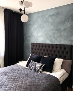Kalkfärg, Jotun Lady Minerals (Färg: St. Pauls blue) St Pauls Blue, Jotun Lady, Wall Colors, My Dream Home, Minerals, Couch, Living Room, Studio, Bedroom
