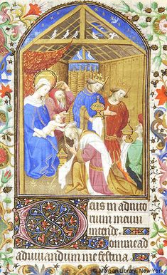 Book of Hours, MS M.453 fol. 74v - Images from Medieval and Renaissance Manuscripts - The Morgan Library & Museum
