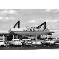 First Burger King Opened July 28, 1953 in Jacksonville, FL.