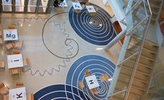 Terrazzo Projects - A Portfolio of Doyle Dickerson Terrazzo Installations George Mason, Terrazzo Flooring, Commercial Flooring, Floor Patterns, Floor Design, Home Appliances, Schools, Education