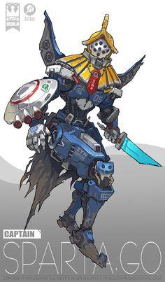 ArtStation - all team, mole wang Robots Characters, Fantasy Characters, Character Concept, Character Art, Arte Cyberpunk, Arte Robot, Robot Concept Art, Robot Design, Character Design References