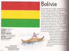 La bandera de Bolivia