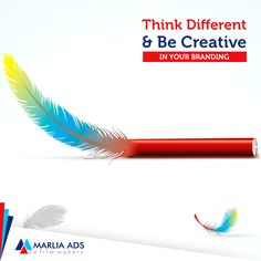 Think Different and create different Ads with Marlia Ads  #MarliaAds #AdFilms #CorporateFilms #Animation #PhotoShoot