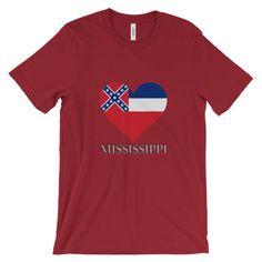 Mississippi Heart State Flag