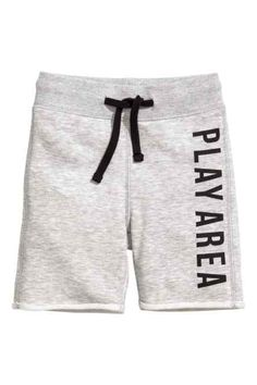 Sweatshorts with elasticized ribbing and drawstring at waist and sewn cuffs at hems with rolled raw edges. Teen Pants, Boys Pants, Kids Shorts, Streetwear Shorts, Smart Shorts, Jogger Shorts, Joggers, Sweatpants, Gym Outfit Men