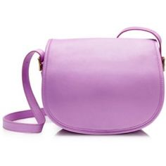 J.Crew - New Without Tags - Saddle Bag Beautiful purple leather saddle bag from the most memorable J.Crew spring season. This 2013 bag is Jenna Lyons' favorite as she wore it to the presentation that year. Perfect to wear on summer gateway or to add little bit of color to your everyday city life. This bag is new with no tags, but still with a plastic label protectant. Never worn. J. Crew Bags Crossbody Bags