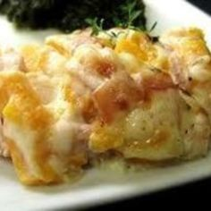 Crock Pot Ham and Potato Casserole