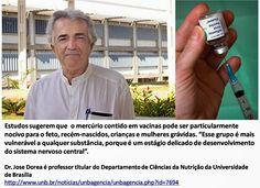 COMPROMISSO CONSCIENTE: Professor da UnB alerta para riscos do mercúrio em...
