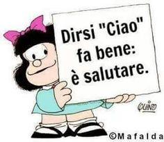 Mafalda and more… Words Quotes, Me Quotes, Funny Quotes, Sayings, It's Funny, Mafalda Quotes, Italian Greetings, Cogito Ergo Sum, Italian Humor
