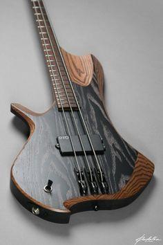 Bass of the Week: Padalka Guitars Ennea Hotchkiss 3-String Bass #bassguitar