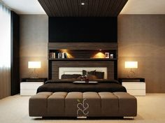 Luxury Master Bedrooms With Exclusive Wall Details | Luxury master ...