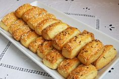 Hungarian Recipes, Russian Recipes, Gourmet Recipes, Cooking Recipes, Biscuit Bread, Cheese Bread, Savory Pastry, Party Finger Foods, Christmas Baking