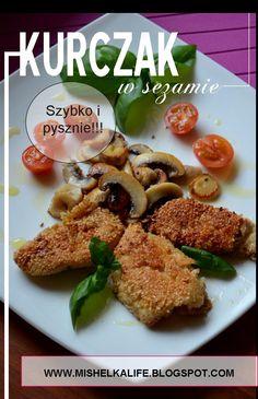 #dieta #healthy #kurczak #obiad #pieczarki #koktajlowe #pomidorki #pomidory #bazylia #diet #food #warzywa #fit #vegetables #skinny #mishelkalife.blogspot.com