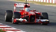 1 Sport Star: Alonso e la Ferrari volano nei test