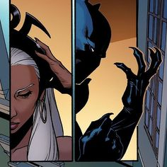 Spotted in this week's A-Force! Looks like their versions of Black Panther and Storm are still married! [Source: A-Force (2015) #3]  #WeAreWakanda #blackpanther #storm #aforce #ororo #ororomunroe #xmen #avengers #marvel #comics #art #africa #wakanda #comicbooks #marvelcomics #marvelstudios #mcu #afrofuturism #newavengers #ultimates #secretwars #tchalla #theblackpanther #hero #superhero