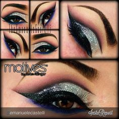 by #emanuelecastelli  New look using only #MotivesCosmetics by @Loren Cline Ridinger