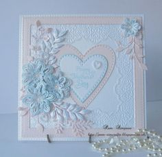 """Hi crafty friends, followers and callers by, welcome to new followers, thank you for joining me. This is my first mothers day card 2016 for my box.. Finished size 6.3/4"""" square card. I have made a f"""