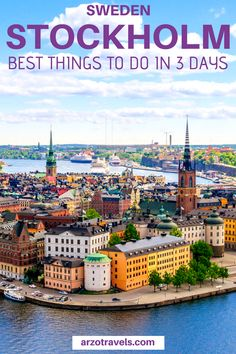 Best Things to do in Stockholm in 3 Days - An Itinerary Find out about the best things to do in Stockholm, Sweden. Here are 13 amazing things to do in 3 days in Stockholm I itinerary I What to do in Stockhom I Best things to do in Stockholm Sweden Backpacking Europe, Europe Travel Guide, Europe Destinations, Budget Travel, Travel Hacks, Traveling Europe, Travel Essentials, Travel Guides, Travelling