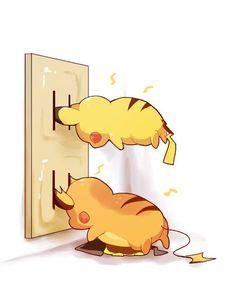 原來電氣鼠是這樣充電的?皮卡丘的日常與非日常生活   可愛   妞新聞 niusnews