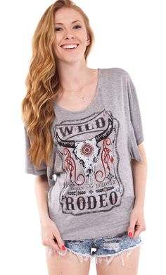 Jeweled Embellished Rodeo Top