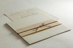 Convite rústico por Papel a la Carte - Foto Paulo Veloso