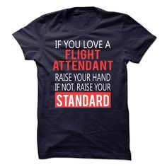 FLIGHT ATTENDANT awesome T-Shirts, Hoodies. ADD TO CART ==►…