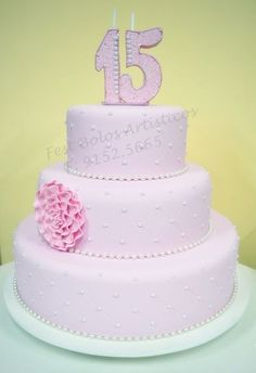 Quinceanera Cakes, Bolo Fake, Desserts, Birthday Cakes, Decorating Cakes, Dreams, Valentines Day Weddings, Craft, Sweet Fifteen
