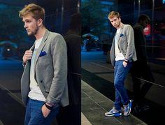 La Redoute Jacket, Insta Shirt Shirt, Tommy Hilfiger Pants, Nike Shoes, Simple Chic Accesory