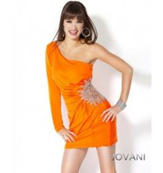 $280.00 Jovani Short Dress at http://viktoriasdresses.com/ Through John's Tailors