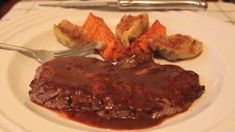 Minute Steaks with BBQ Butter Sauce Video