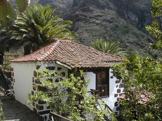 "Tenerife ""Canary island"" Masca Tenerife, Romantic Pictures, Mediterranean Homes, Canary Islands, My House, Gazebo, Spain, Planters, Outdoor Structures"