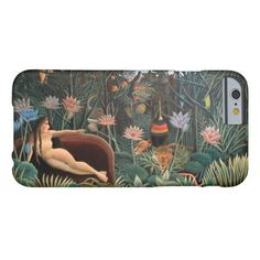 Henri Rousseau The Dream Barely There iPhone 6 Case