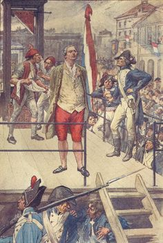Tea at Trianon: Louis XVI on the Scaffold