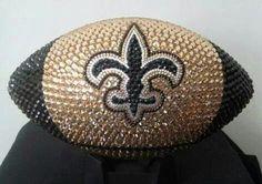 New Orleans Saints Bling Football Saints Gear, Saints Days, All Saints, Saints Shirts, Best Football Team, Watch Football, Football Season, Football Gear, Football Stuff