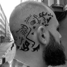 Warrior Tattoos, Badass Tattoos, Tattoos For Guys, Ragnar Lothbrok, Norse Tattoo, Viking Tattoos, Back Of Neck Tattoo Men, Viking Head, Shoulder Armor Tattoo