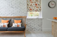View Hillarys range of Roman blinds. This style comes fully-lined as standard, for a luxurious look. Book your free appointment today with a local advisor.