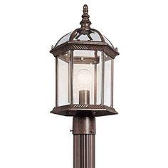 Kichler Lighting 49187 Street Post Mount Light