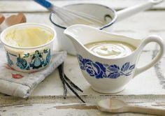 For a real treat - Rodda's Cornish Clotted Cream AND Rodda's Custard! Clotted Cream Recipes, Marketing Consultant, Custard, Treats, Homemade, Design, Blue, Goodies, Diy