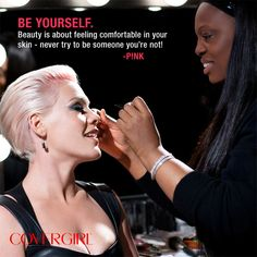 COVERGIRL P!nk is an inspiration!
