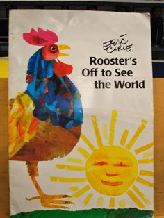 Rooster's Off to See the World (The World of Eric Carle). Rooster is off to see the world, and one by one he is joined by friends. When he is left alone, he learns that there is no place like home. Eric Carle, Math Books, Preschool Books, Math Patterns, Counting Books, See World, Sr1, Tie Shoes, Addition And Subtraction