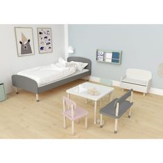 Buy your stunning Flexa PLAY bed - Single MDF today from Flexa Children's Beds. View the entire Flexa range online. Make bedtime fun with Flexa. Playroom Bench, Gray Playroom, Kids Bedroom Furniture, Beds Uk, Kid Beds, Play Beds, Adams Furniture, Junior Bed, Bed Photos