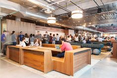 """The Coolest Techie Digs In S.F. #refinery29  http://www.refinery29.com/dropbox-office-pictures#slide9  Where can we find you when you're not at work?  """"At the gym, or puttering. There's a barbell club opening up near my apartment and I ordered a paddleboard, so those will probably be taking more non-work time soon, too."""""""