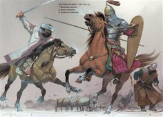 Armies of Medieval Russia 750–1250, Eastern Russia, 11th-12th Century. Osprey Publishing