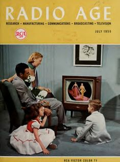 Radio Age,  July 1956.
