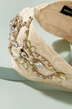 9684b1a19c05 Elin Floral-Jacquard Embellished Headband