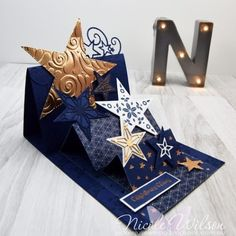 Nicole Wilson Independent Stampin' Up!® Demonstrator: ESAD 2019 Holiday Catalogue Sneak Peek Nicole Wilson Independent Stampin' Up! Fancy Fold Cards, Folded Cards, Stampin Up Christmas, Christmas Cards, Pineapple Punch, Karten Diy, Star Cards, Christmas Catalogs, Easel Cards